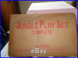 MARX Orig. Jungle Play Set 3705 series 500 Excellent