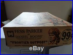 MARX Orig. RARE MPC Daniel BooneFrontier Outpost Play set 5065 Excellent
