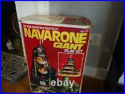 MARX PLAY SET, THE GUNS OF NAVARONE with extras