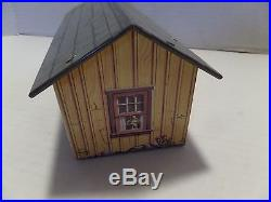 Marx Rifleman Playset Tin House And Plastic Porch