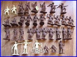 MARX SAFARI ZULU JUNGLE JIM DOCTARI playset parts African native witch doctor ++