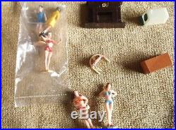 MARX SEE PLAY DOLL HOUSE Miniature Furniture Figures