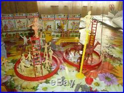 MARX SUPER CIRCUS PLAY SET 1952 No. 4319 BEAUTIFUL TIN LITHO