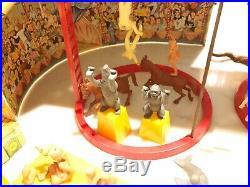 MARX SUPER CIRCUS PLAY SET 1952 No. 4319 COMPLETE & BEAUTIFUL TIN LITHO