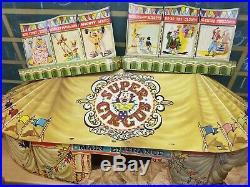 MARX SUPER CIRCUS PLAY SET 1952 No. 4319 TIN LITHO withBox
