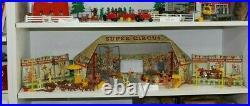 MARX SUPER CIRCUS PLAY SET 1952 No. 4319 TIN LITHOGRAPH