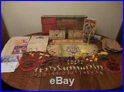 MARX SUPER CIRCUS PLAYSET 4320 With BOX COMPLETE With EXTRAS MARY HARTLINE ABC TV