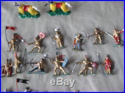 Marx Vintage Knights & Castle Miniature Playset