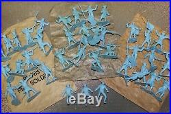 MARX Vintage Revolutionary War Play Set 500 Series #3401 (1957)