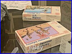 MARX WWII Battleground Playset #4113 Complete with Box & Add-Ons & 1960s soldiers