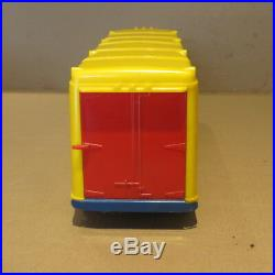 MARX hard plastic Lumar Hauler and Van Trailer with box, 1955