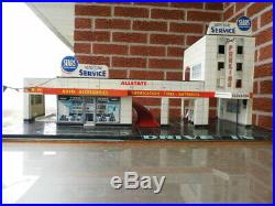 MARX tin litho SEARS ALLSTATE HAPPI HAPPY TIME Auto service centre gas station