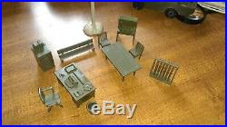 Marx 1950s Complete Army Training Center #4122