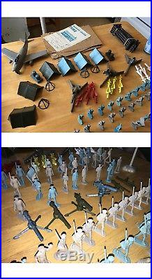 Marx 1954 Armed Forces Training Center series 1000 play set