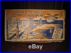 Marx 1960's Project Mercury-Cape Canaveral Play Set withBox
