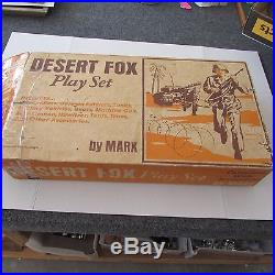 Marx 1972 The Desert Fox Play Set