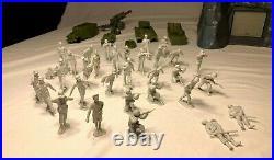 Marx 1977 Famous WWII Battle of NAVARONE GIANT Play Set #4302