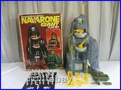 Marx, 1977, Famous WWII Battle of NAVARONE GIANT Play Set #4302 (Lot B) with Box