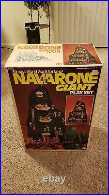 Marx 1980 Famous Battle of NAVARONE GIANT Play Set #08058 with Box