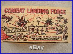 Marx 2649 Combat landing Play Set / Excellent Condition