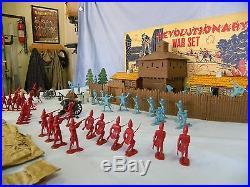 Marx #3408 Revolutionary War Play Set