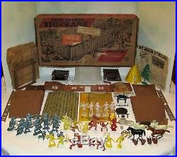 Marx #3616 Spiegel #35 5009 Davy Crockett's Fort Apache Playset from 1955