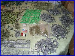 Marx 4169 GIANT BATTLEGROUND (Montgomery Wards Version) 800 pieces