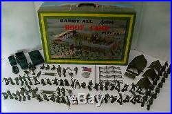 Marx #4645 Carry All Action Boot Camp Playset 2nd Version