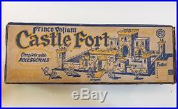 Marx #4706 Medieval Castle Fort Play Set w Box