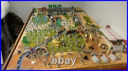 Marx 4760 Battle of the Blue and Gray with many many extras