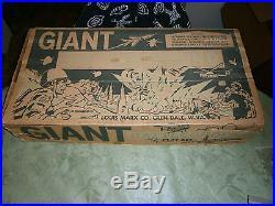 Marx 4768 or 4781 GIANT BATTLEGROUND playset Great shape