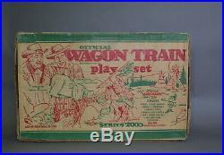 Marx #4805 Wagon Train Play set Series 2000