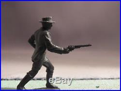 Marx 54mm Wyatt Earp in Black Original