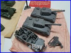 Marx 5938 European Battleground Playset Rare 1960's Items Look