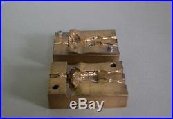 Marx 60mm Mountie Rare Brass Cavity
