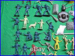 Marx 60mm Rin Tin Tin Fort Apache with Box All Original Vintage 1950s Playset