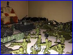 Marx Airfix CTS DDay Playset WW2 German US Airborne Soldiers Battleground Europe