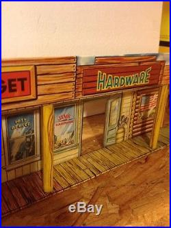 Marx Alaska Playset Alaskan Trading Company Building In Excellent Condition
