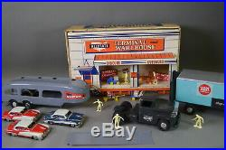 Marx Allstate Terminal Warehouse Play set with Car & Truck