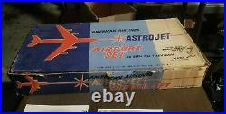 Marx American Airlines Astrojet Airport 1961 Playset with Box Lovely Condition