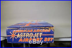 Marx American Airlines Astrojet Airport Set SEALED
