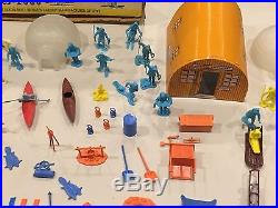Marx Arctic Explorer Play Set Series 2000 Box#3702