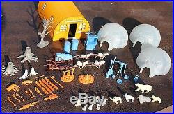 Marx Arctic Explorer Playset & Box