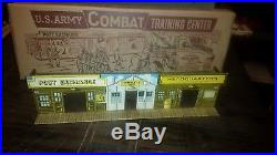 Marx Armed Forces Street Front Bldg with great repro box