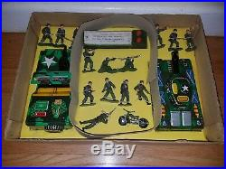 Marx Armored Attack Set playset battery operated extremely rare army tanks