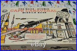 Marx Atomic Cape Canaveral Missile Base Play Set #4521 New In Box