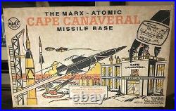 Marx Atomic Cape Canaveral Missile Base Play Set No. 4521 With Figures