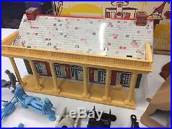 Marx BLUE AND GRAY Sears Allstate catalog Playset #5959 withbox NICE