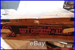 Marx BOXED Davy Crockett at the Alamo Set w Cream Mexicans
