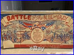 Marx Battle Of The Blue And Gray Play Set Box #4658